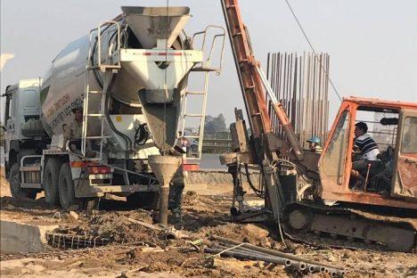 Cọc khoan nhồi Thanh Hóa – Công tác đổ bê tông cọc khoan nhồi đường kính D400