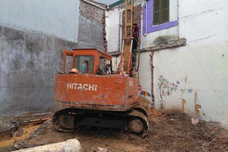 Cọc khoan nhồi Thanh Hóa – Công tác vét sạch đáy Cọc khoan nhồi đường kính D400