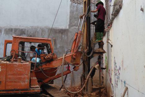 Cọc khoan nhồi Thanh Hóa – Công tác hạ ống đổ bê tông Cọc khoan nhồi đường kính D400