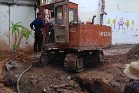 Cọc khoan nhồi Thanh Hóa – Công tác lắp ống bơm tĩnh Bê tông Cọc khoan nhồi đường kính D400